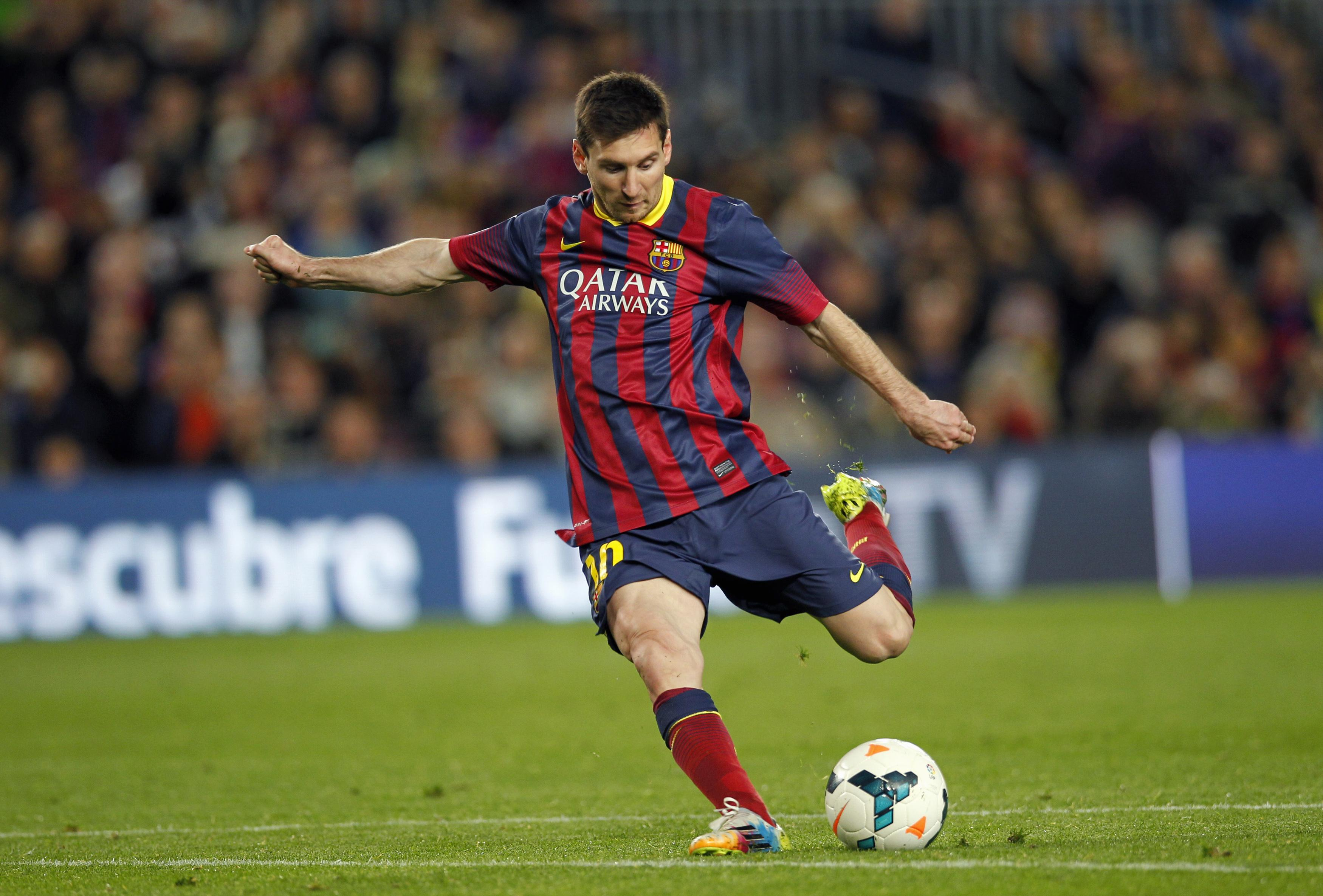 Lionel Messi, the fifth time winner of the most honored Ballon d'Or ...